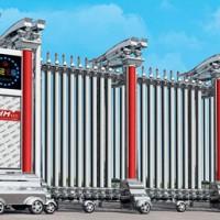 【西格玛】青岛电动伸缩门厂家直销生产供应智能防盗电动伸缩门