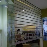 【生产供应】青岛卷帘门 电动铝合金安全防盗美观卷帘门