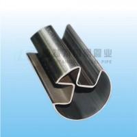 订购不锈钢圆管90度双槽管找佛山励特厂家