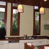 天津铝木门窗 德奥斯86铝包木窗
