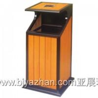 户外环保钢木垃圾桶全球批发世界销售中国质量家