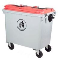东莞环卫660L塑料垃圾桶