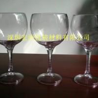 供应吹塑塑料高脚红酒杯 PC塑料红酒杯