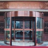 淄博铜门旋转门