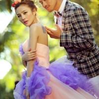 武汉藏龙岛婚纱摄影