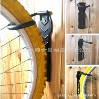 壁挂式自行车架 自行车挂钩 广州本泽厂家供应 自行车停放架
