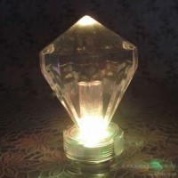 LED Diamond Canddle Light