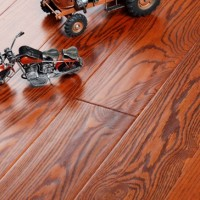DR-14-月黛红色红栎实木地板