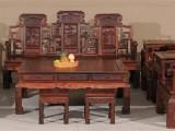 万盛宇 老挝大红酸枝 大吉祥如意红木沙发 11件套