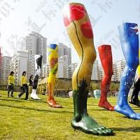黄金沙艺术城市园林景观装饰EPS,PU泡沫宝利隆SPUA雕塑