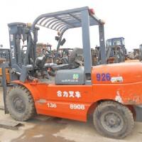 青岛出售10年7成新合力H2000系列5吨内燃叉车,二手龙工