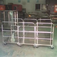 供应深圳不锈钢平板推车