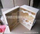 木盒厂家专业生产松木酒盒 原木酒盒 进口松木原木色酒盒