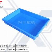 3#方盘 食品周转盘 塑胶方盘 海南塑料方盘