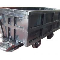 MCC1.6-6单侧曲轨侧卸式矿车