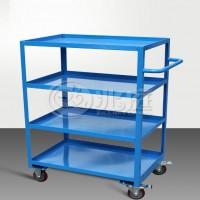 多层钢制手推车 图书室用多层推车 蓝色钢制手推车RCA-04