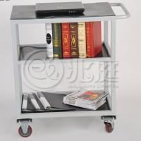 钢制三层平板车 档案室用手推车 图书室用手推车RCA-031