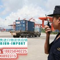 上海进口二手干洗机报关需要哪些资料
