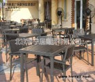 深圳胶木休闲椅 户外休闲吧桌椅 户外餐厅桌椅