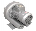 旋涡式气泵 鼓风机旋涡风机吹吸两用空气泵吸尘 绿罗风机
