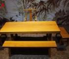 非洲黄花梨黄花梨菠萝格巴西花梨奥坎大板餐桌茶桌电脑