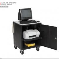 多媒体带柜推车|投影仪可移动推车机房便携式推车RCSPR11