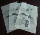 工厂定做L型多层A4文件袋 四页袋 文件套 多功能E310套