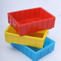 厂家直销 苏州塑料周转箱 高6公分的2号箱 昆山零件工具箱