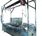 电动吊葫芦滚筒式超声波清洗机
