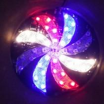 LED风火轮 七彩LED风车灯 汽车摩托装饰车灯图片
