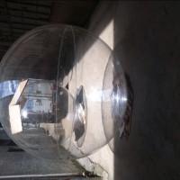 工厂实拍场地场景装饰道具大型2米直径拼接亚克力圆球