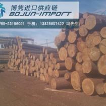 深圳盐田非洲白木进口报关代理公司