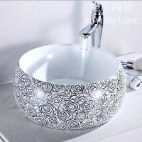 景德镇陶瓷洗脸盆