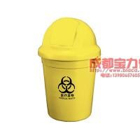 成都 110L 弹盖医疗垃圾桶 110A-1