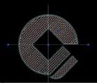 水晶灯,建行标识,LOGO建行水晶