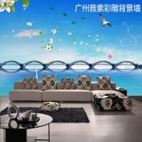 艺术电视背景墙