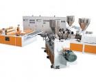 上海金纬PVC合成树脂瓦设备/琉璃瓦设备/塑料瓦设备生产线