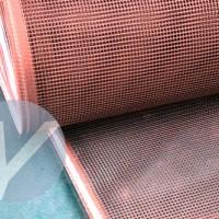 供应漂染布烘干,无纺布烘干输送带,加导条网带