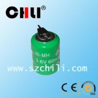 供应3.6v镍氢60H组合电池,控制板线路板通用