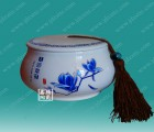 景德镇陶瓷茶叶罐 陶瓷蜂蜜罐  厂家直销陶瓷罐