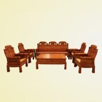 原木客厅黄花梨沙发北京明清宝座沙发