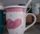 陶瓷奶茶杯批发 陶瓷情侣杯批发 景德镇陶瓷茶杯定做