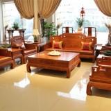 实木沙发1+2+3组合客厅家具红木花梨木色中式仿古榆木家具