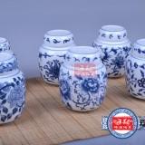 陶瓷花茶包装罐定做厂玫瑰花茶包装罐子价格