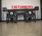 中式古典家具 刺猬紫檀中堂 仿古中堂 古典供桌价格