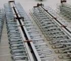 伸缩缝工厂钢筋与预应力空心板预埋筋的连接
