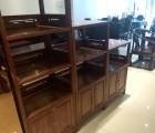 中山博豪红木供应价格刺猬紫檀办公家具文件柜