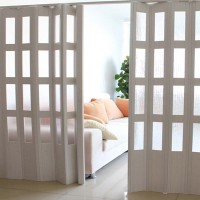 重庆软门帘pvc折叠门塑料推拉折叠门
