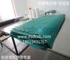 橡木桌面工作台还能铺橡胶材质的防静电橡胶板吗?