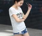 东莞服装批发网低价T恤批发韩版女装批发男装T恤潮流T恤连衣裙